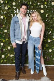 Claudia Lee Stills at Shopbop + Levi's Made & Crafted Exclusive Capsule Collection Launch in Los Angeles 2018/02/22