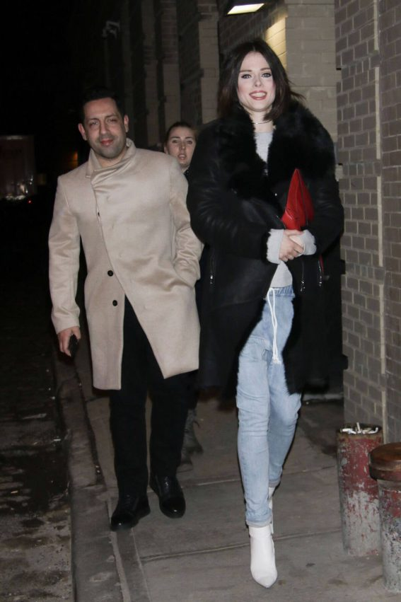 Coco Rocha Stills Out and About in New York 2018/02/08