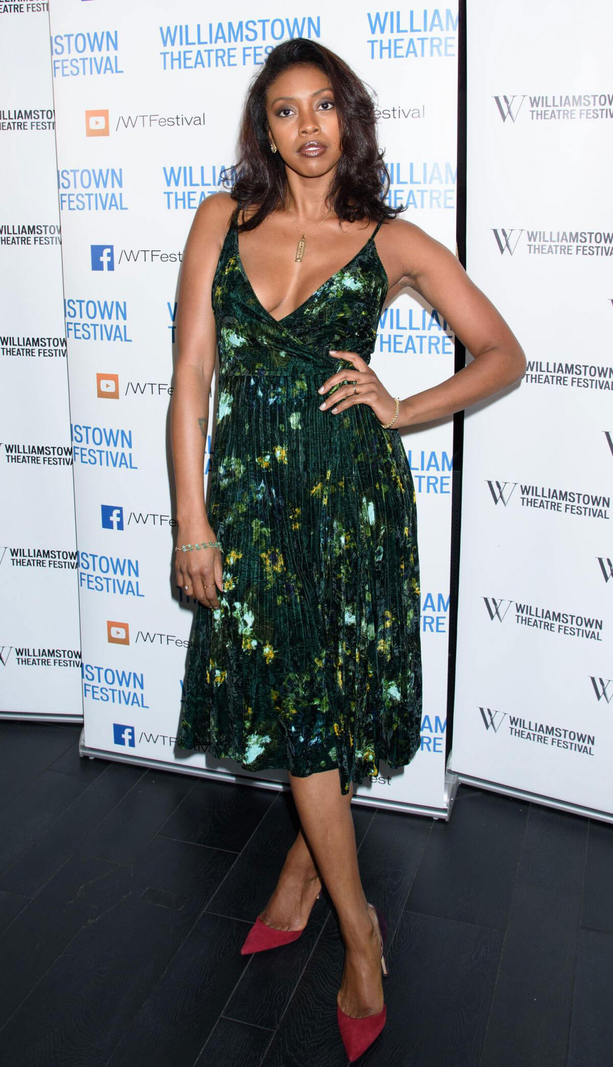 Condola Rashad Stills at Williamstown Theatre Festival Gala 2018 at Tao Downtown 2018/02/06