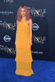 Constance Wu Stills at A Wrinkle in Time Premiere in Los Angeles 2018/02/26