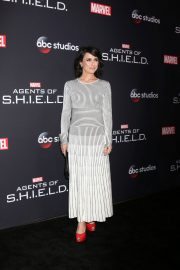 Constance Zimmer Stills at Agents of S.H.I.E.L.D. 100th Episode Celebration in Hollywood 2018/02/24