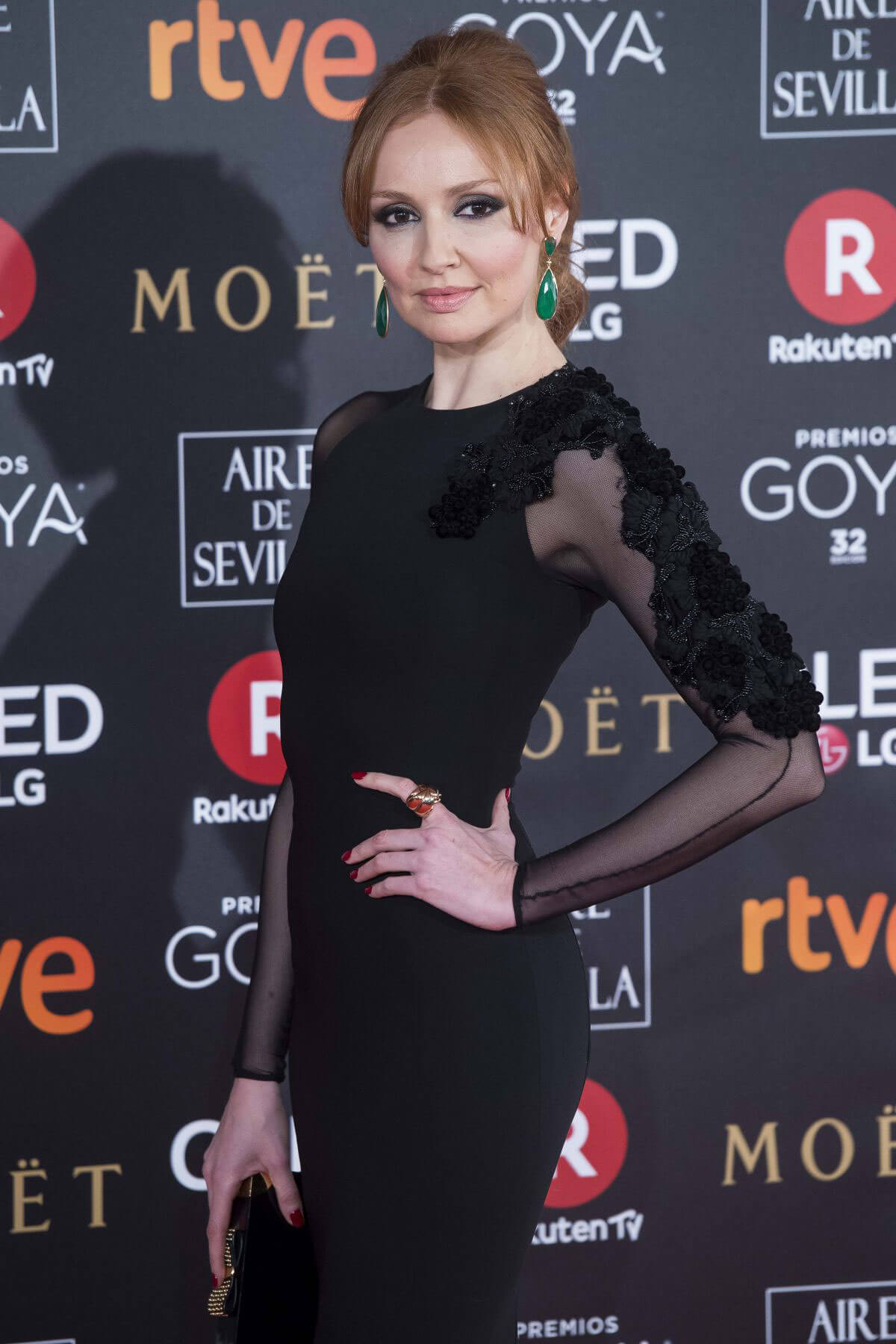 Cristina Castano Stills at 32nd Goya Awards in Madrid 2018/02/03