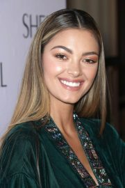 Demi-Leigh Nel-Peters Stills at Sherri Hill Fashion Show in New York 2018/02/09