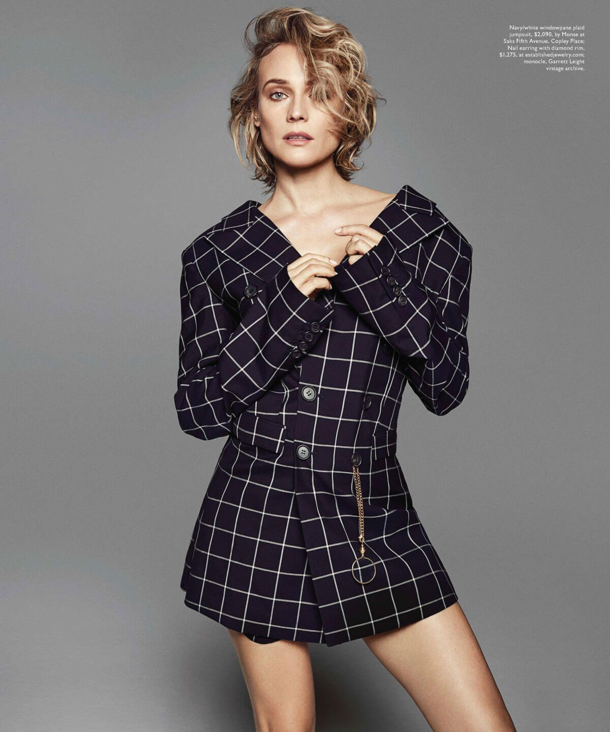 Diane Kruger Poses for Boston Common Magazine,January 2018 Issue