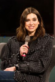 Dua Lipa Stills at in Conversation with Lyor Cohen at Youtube Space in London 2018/02/19