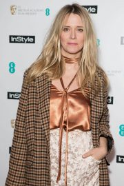 Edith Bowman Stills at Instyle EE Rising Star Baftas Pre-party in London 2018/02/06