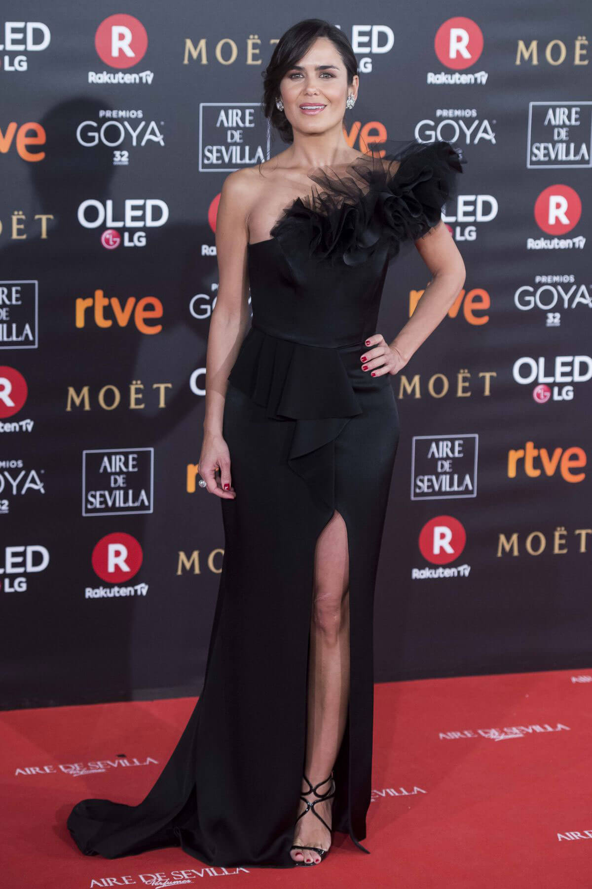 Elena Ballesteros Stills at 32nd Goya Awards in Madrid 2018/02/03