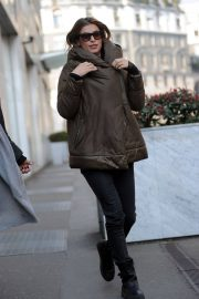 Elisabetta Canalis Stills Out and About in Milan 2018/02/21