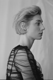 Elizabeth Debicki Poses for Evening Stantard Magazine, February 2018 Issue