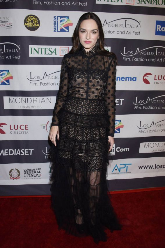 Emanuela Postacchini Stills at Los Angeles Italia Film, Fashion and Art Festival 2018/02/25