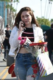 Emma Kenney and Aidan Alexander Stills Out in Los Angeles 2018/02/11