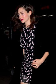 Emmy Rossum Stills Out for Dinner at Tao in New York 2018/02/05