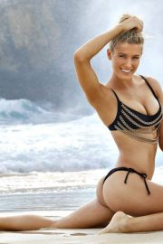 Eugenie Bouchard Stills in Sports Illustrated Swimsuit 2018 Issue