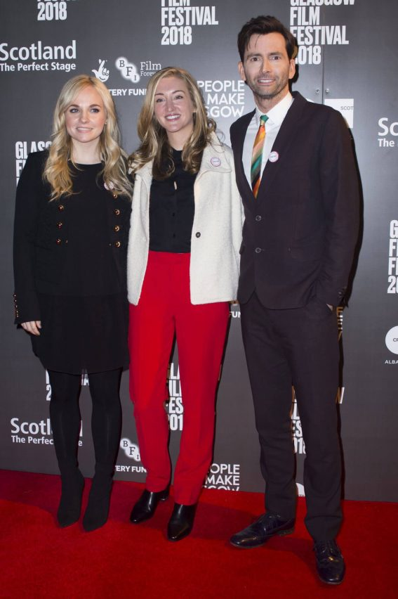 Faye Marsay and Daisy Aitkens Stills at You, Me and Him Premere at Glasgow Film Festival 2018/02/25