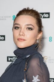 Florence Pugh Stills at Instyle EE Rising Star Baftas Pre-party in London 2018/02/06