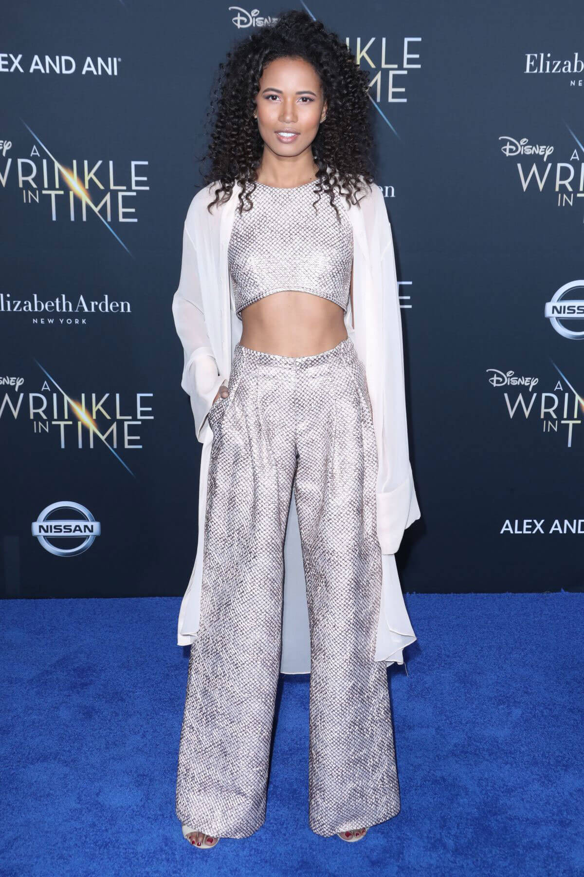 Fola Evans-Akingbola Stills at A Wrinkle in Time Premiere in Los Angeles 2018/02/26