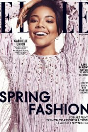 Gabrielle Union Stills in Elle Magazine, Canada March 2018 Issue