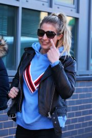 Gemma Atkinson Stills Out and About in Nottingham 2018/02/07