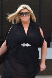 Gemma Collins Stills Out in Cape Verde 2018/02/01