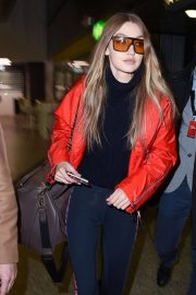 Gigi Hadid Stills at Out and About Airport in Milan 2018/02/25