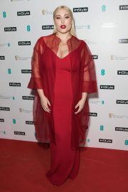 Hayley Hasselhoff Stills at Instyle EE Rising Star Baftas Pre-party in London 2018/02/06