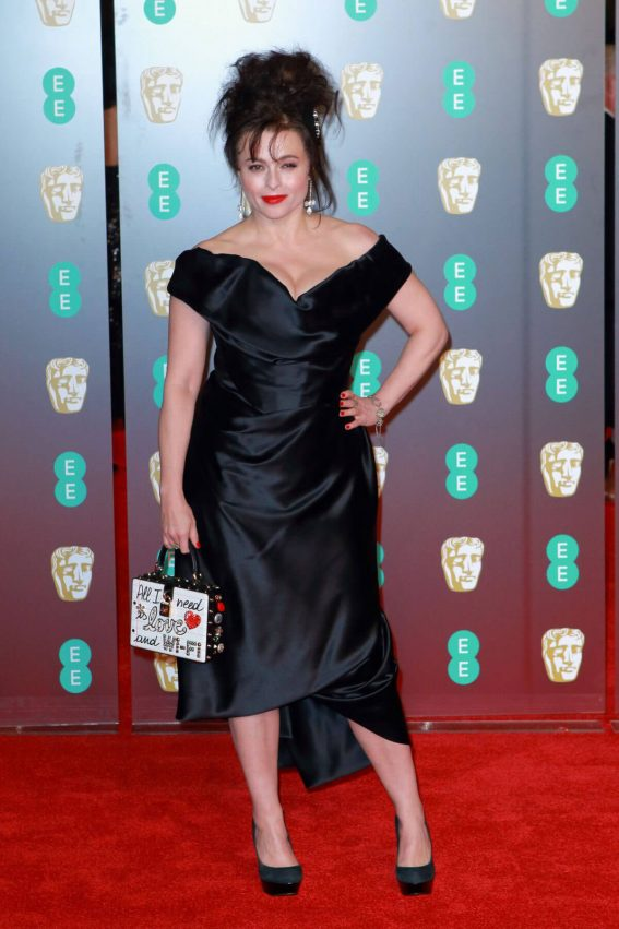 Helena Bonham Carter Stills at BAFTA Film Awards 2018 in London 2018/02/18