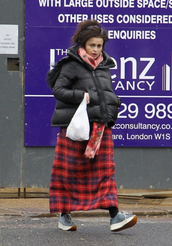 Helena Bonham Carter Stills Out in Hampstead 2018/02/10