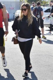 Hilary Duff Stills Out and About in Los Angeles 2018/02/09