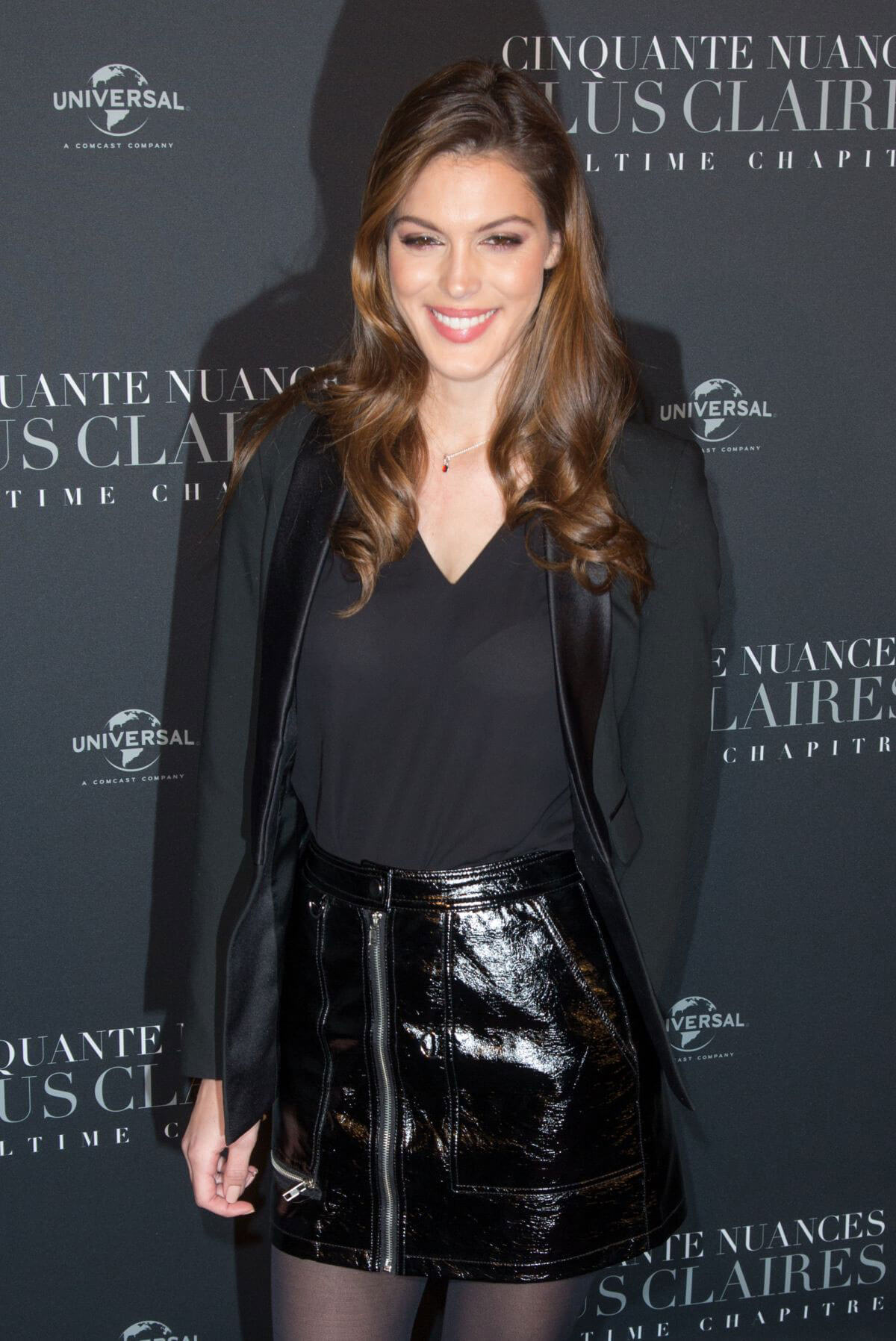 Iris Mittenaere Stills at Fifty Shades Freed Premiere in Paris 2018/02/06