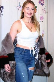 Iskra Lawrence Stills at Spark x Iskra in Store Event in New York 2018/02/02