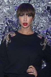 Jackie Cruz Stills at Philipp Plein Fall/Winter 2018 Show at New York Fashion Week 2018/02/10