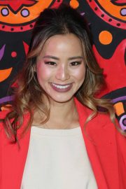 Jamie Chung Stills at Anna Sui Fall/Winter 2018 Fashion Show at NYFW in New York 2018/02/12