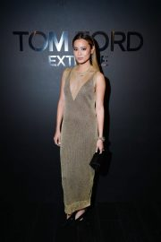 Jamie Chung Stills at Tom Ford: Extreme Cocktail Party at HYFW in New York 2018/02/09