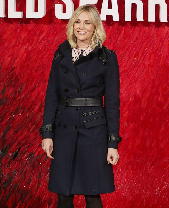 Jenni Falconer Stills at Red Sparrow Premiere in London 2018/02/19