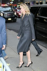Jennifer Lawrence Stills Arrives at Late Show with Stephen Colbert in New York 2018/02/26