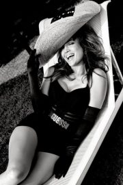 Jennifer Lopez Poses for Guess Spring 2018 Campaign Photos