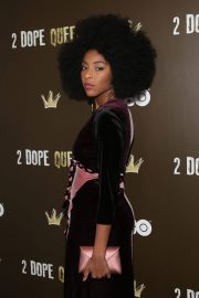 Jessica Williams Stills at 2 Dope Queens NYC Slumber Party Premiere in New York 2018/01/31