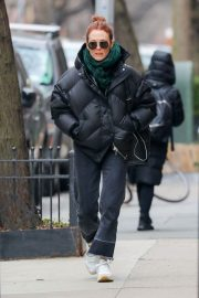 Julianne Moore Stills Out and About in New York 2018/02/09