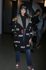 Kaia Gerber Stills at Anna Sui Fall/Winter 2018 Fashion Show at NYFW in New York 2018/02/12