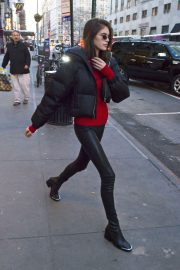 Kaia Gerber Stills Out and About in New York 2018/02/05