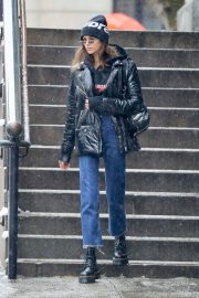Kaia Gerber Stills Out in New York 2018/02/07