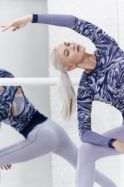 Karlie Kloss Poses for Adidas by Stella McCartney Spring 2018 Collection Photos