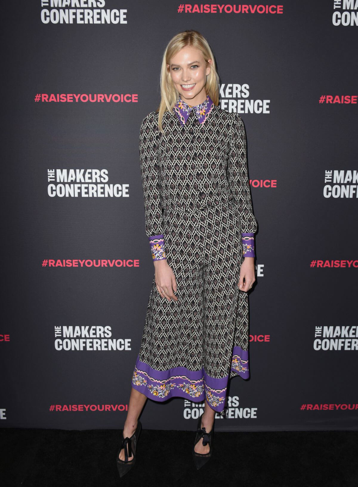 Karlie Kloss Stills at 2018 Makers Conference at Neuehouse Hollywood in Los Angeles 2018/02/06