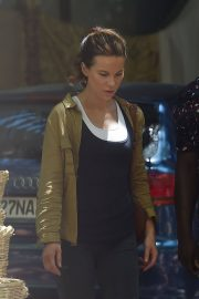 Kate Beckinsale Stills on the Set of The Widow in Cape Town 2018/02/05