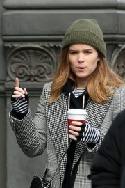 Kate Mara Stills Out and About in New York 2018/02/01