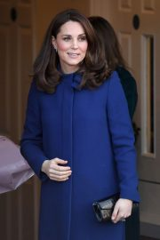 Kate Middleton Stills at Addiction Community Treatment Centre in Wickford 2018/02/07