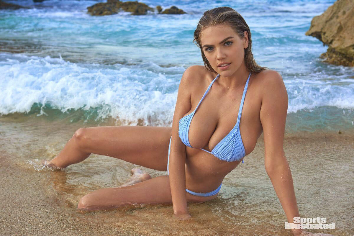 Kate Upton Stills In Sports Illustrated Swimsuit 2018