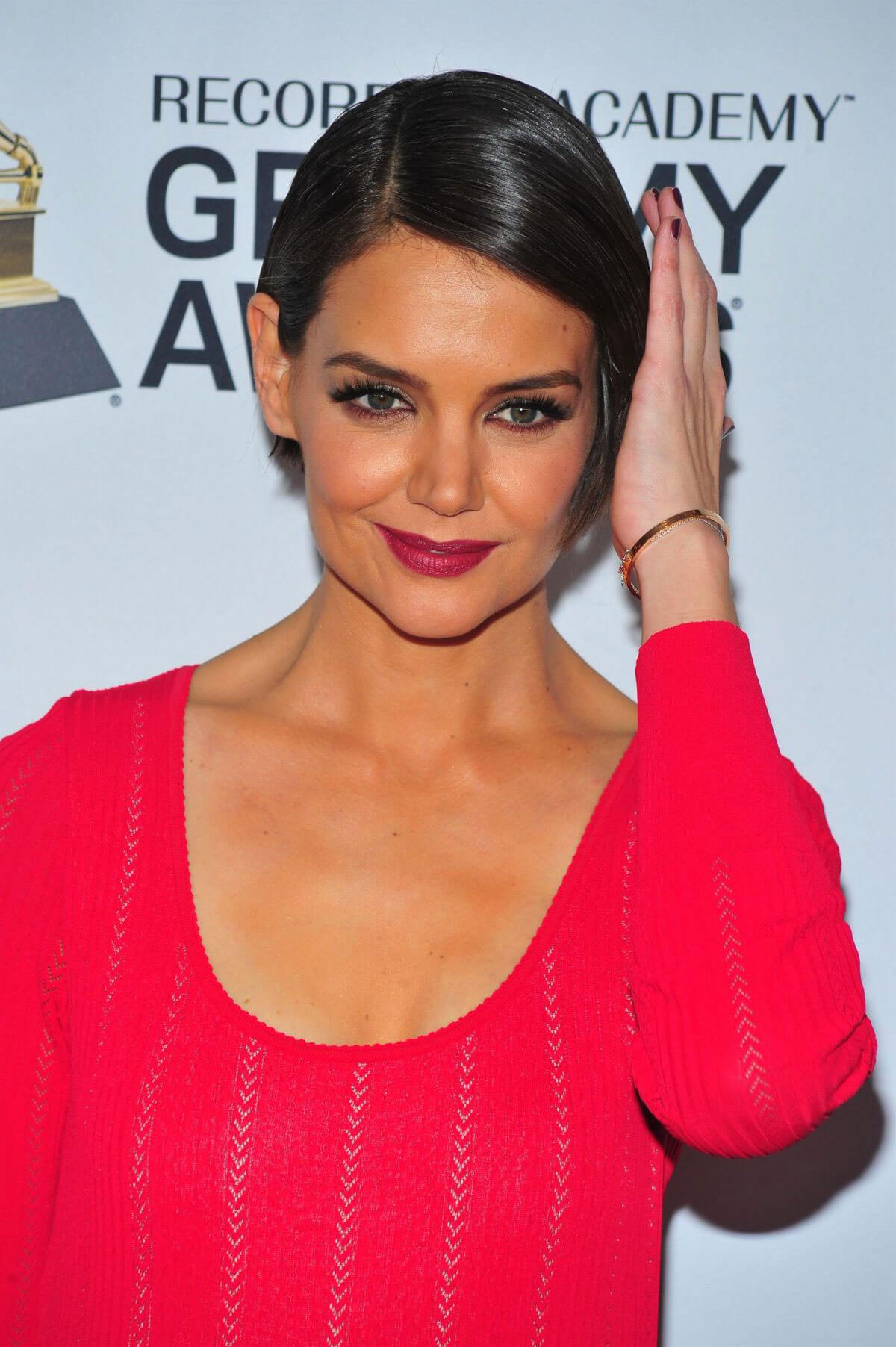 Katie Holmes Stills at Clive Davis and Recording Academy ...