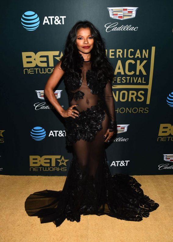 Keesha Sharp Stills at American Black Film Festival in Los Angeles 2018/02/25