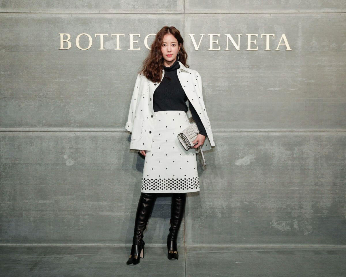Ki Eun-se Stills at Bottega Veneta Show at New York Fashion Week 2018/02/09